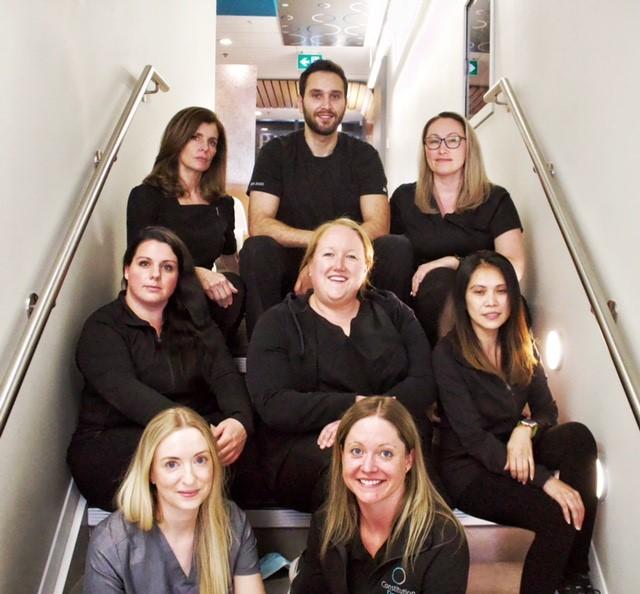 Constitution dental team